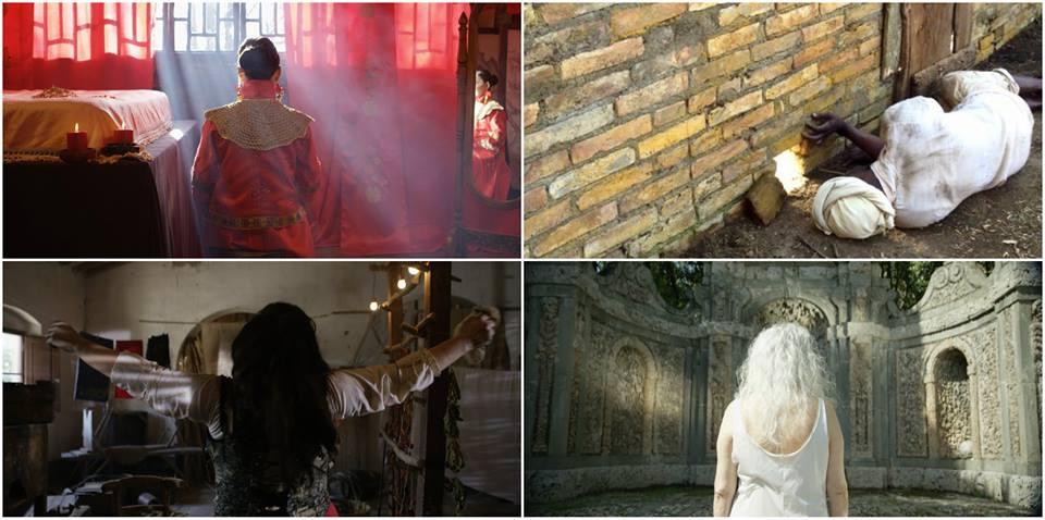 4 scatti per 4 storie intrecciate - in basso a destra Villa Reale di Marlia